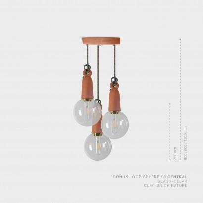 CONUS LOOP SPHERE - 3 CENTRAL